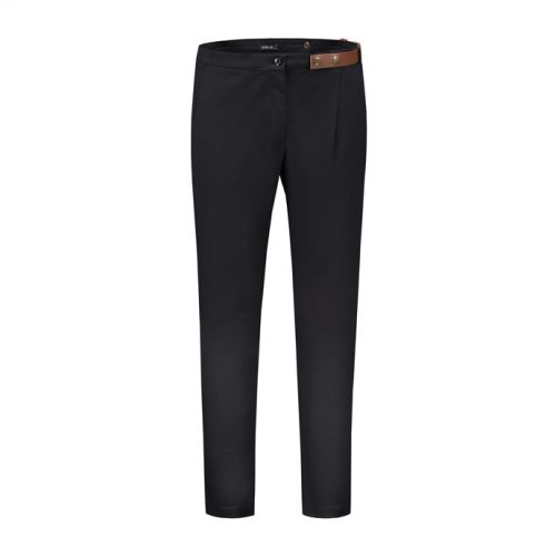 Side-belt trousers